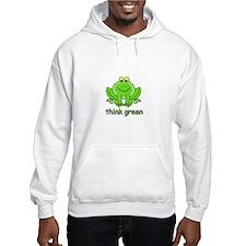 Think Green Frog Hoodie