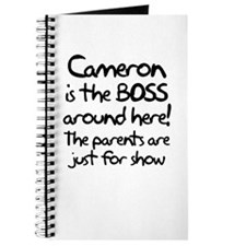 Cameron is the Boss Journal