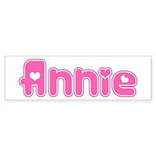"""""""Annie"""" Bumper Car Sticker"""