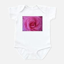 Pink Valentine Rose Infant Bodysuit