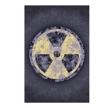 Radiation -cl-dist Postcards (Package of 8)