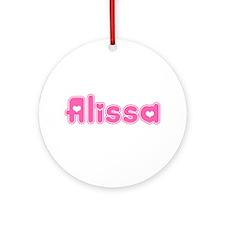 """""""Alissa"""" Ornament (Round)"""