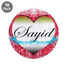 "Sayid LOST 3.5"" Button (10 pack)"