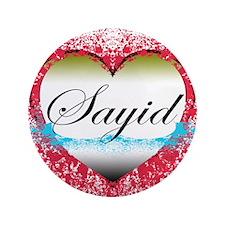 "Sayid LOST 3.5"" Button"