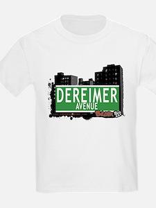Dereimer Av, Bronx, NYC T-Shirt