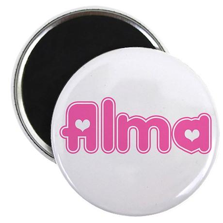 """Alma"" Magnet"