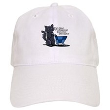 Black Cat Economic Stimulator Baseball Cap