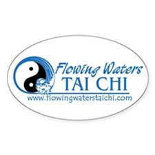 Flowing Waters Tai Chi Decal