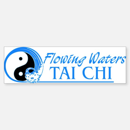 Flowing Waters Tai Chi Sticker (Bumper)