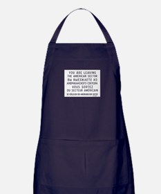 Cool Berlin wall Apron (dark)