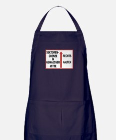 Unique Berlin wall Apron (dark)