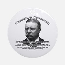 Theodore Roosevelt 01 Ornament (Round)