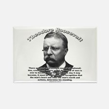 Theodore Roosevelt 01 Rectangle Magnet