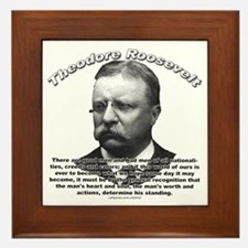Theodore Roosevelt 01 Framed Tile
