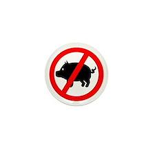 Pig - Swine flu Mini Button (10 pack)