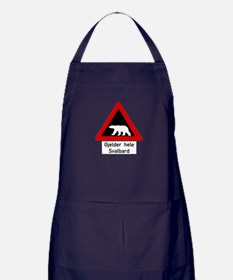 Cute Polar Apron (dark)
