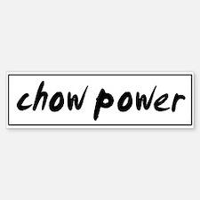 Chow POWER Bumper Bumper Bumper Sticker