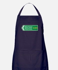 Swansea Roadmarker, UK Apron (dark)