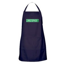 Cute New york city streets Apron (dark)
