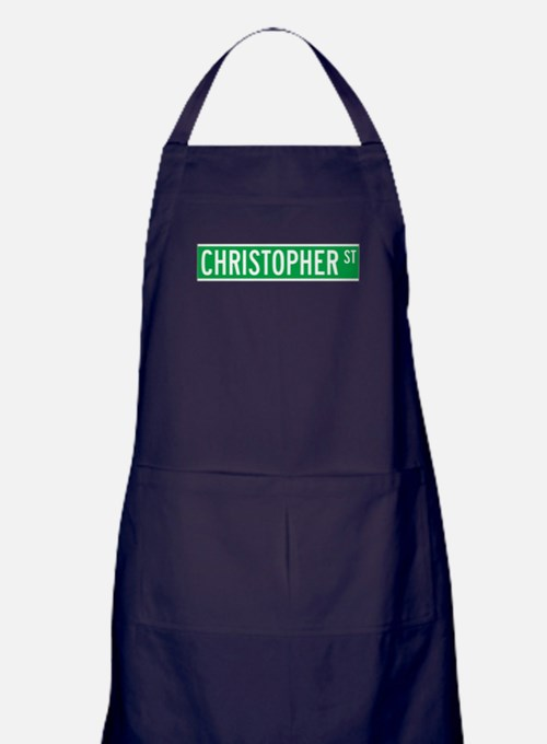 Cute Nyc streets Apron (dark)