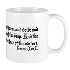 And the Earth Was Without Form Genesis 1:2 Mug