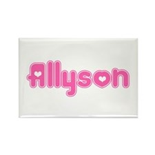 """Allyson"" Rectangle Magnet"