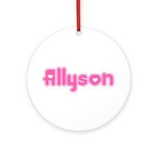 """""""Allyson"""" Ornament (Round)"""