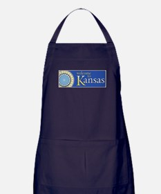 Welcome to Kansas - USA Apron (dark)