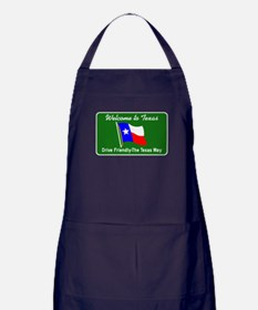 Welcome to Texas - USA Apron (dark)