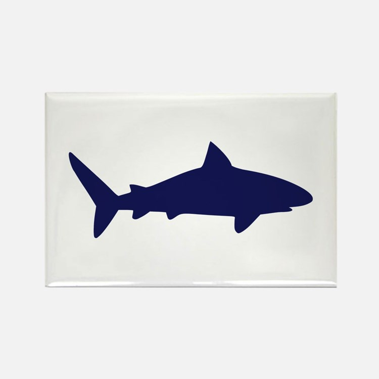 Shark Rectangle Magnet