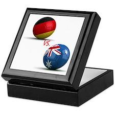 Germany Vs Australia Keepsake Box