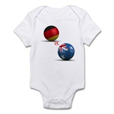 Germany Vs Australia Infant Bodysuit