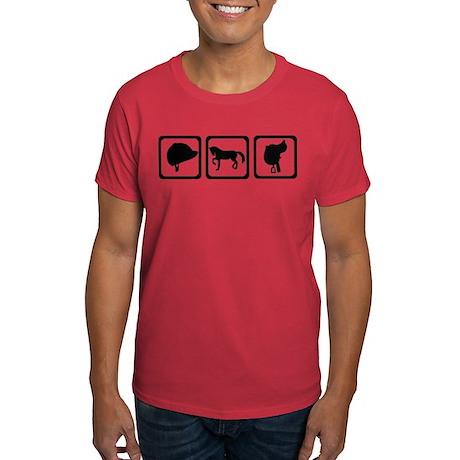 Horse - riding Dark T-Shirt