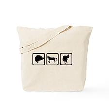 Horse - riding Tote Bag