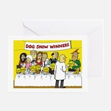 dog show Greeting Card