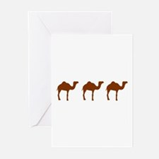 Camels Greeting Cards (Pk of 10)