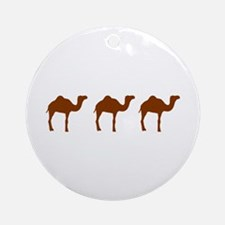 Camels Ornament (Round)