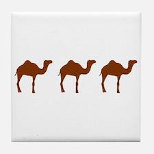 Camels Tile Coaster