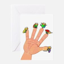 ladybird collector Greeting Card