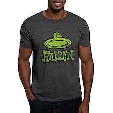 Condoms Happen (left) T-Shirt