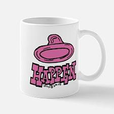 Condoms Happen (left) Mug