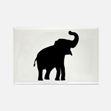 Elephant Rectangle Magnet (100 pack)