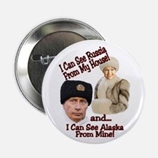 "Putin and Palin 2.25"" Button"