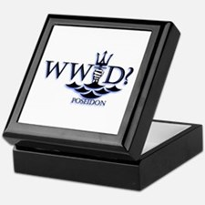 What Would Poseidon Do? Keepsake Box