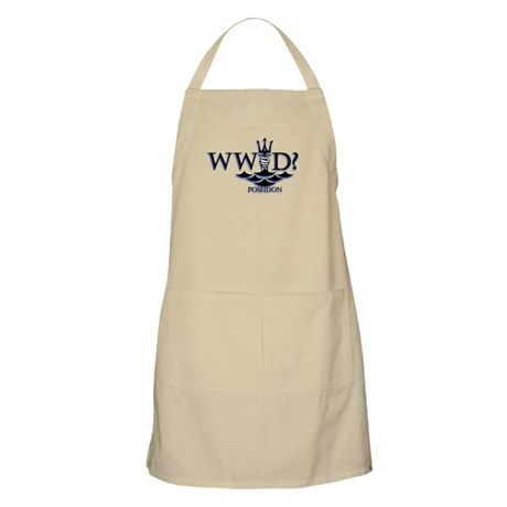 What Would Poseidon Do? Apron