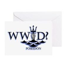 What Would Poseidon Do? Greeting Card