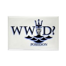 What Would Poseidon Do? Rectangle Magnet
