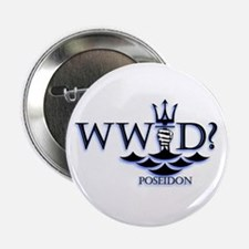 "What Would Poseidon Do? 2.25"" Button"