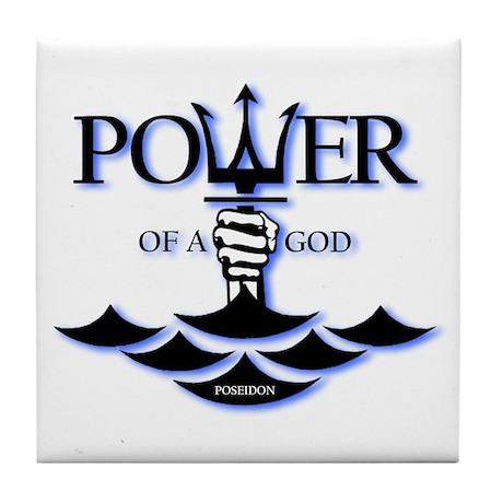 Power of Poseidon Tile Coaster