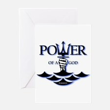 Power of Poseidon Greeting Card